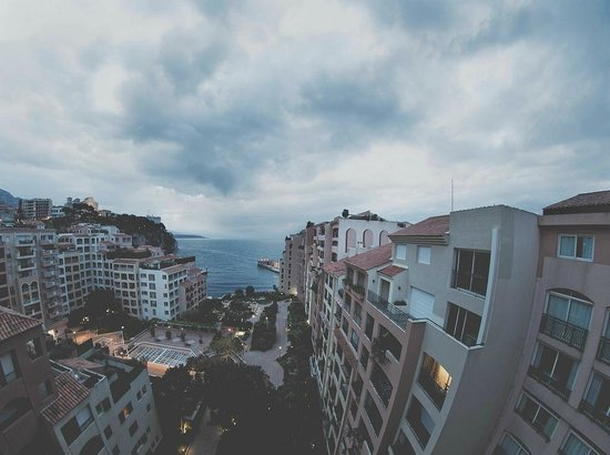 Columbus Monte-Carlo: View from the second terrace