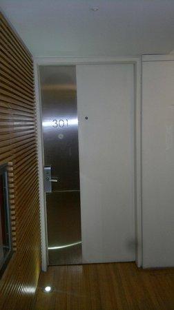 Casa Calma Hotel : Porta quarto