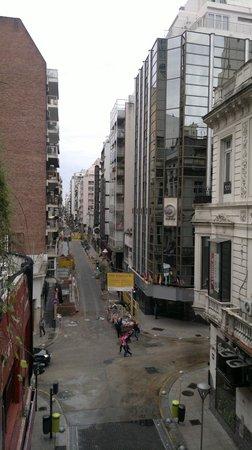 Casa Calma Hotel : Vista da sacada lado esq.
