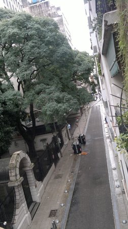 Casa Calma Hotel : Vista da sacada lado dir.
