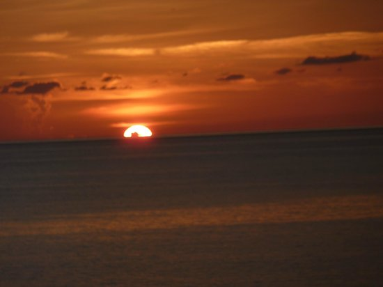 Couples Swept Away: sunset from the great house