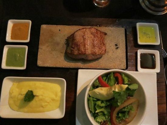 Uchu Peruvian Steakhouse: alpaca- lean, tender, juicy