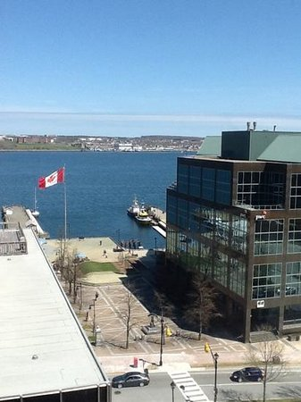 The Hollis Halifax - a DoubleTree Suites by Hilton: View from suite at Radisson suites Halifax