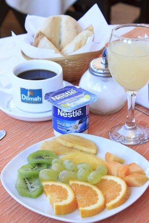 Hotel Da Vinci Valparaiso: continental breakfast