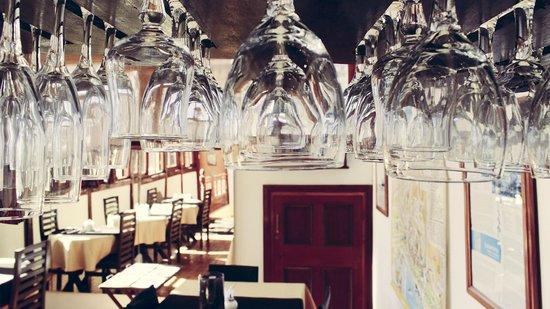 Hotel Da Vinci Valparaiso: breakfast area