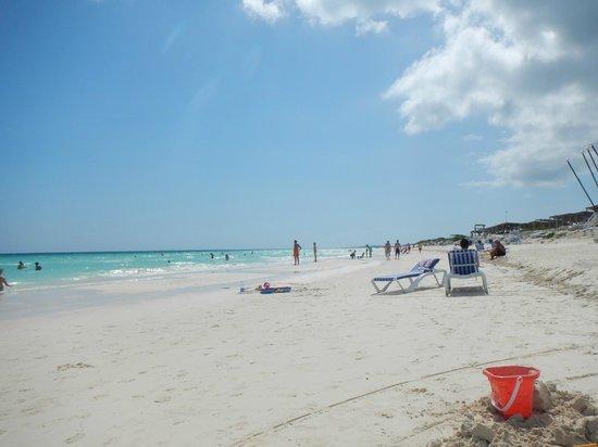 Hotel Playa Cayo Santa Maria : gorgeous beach