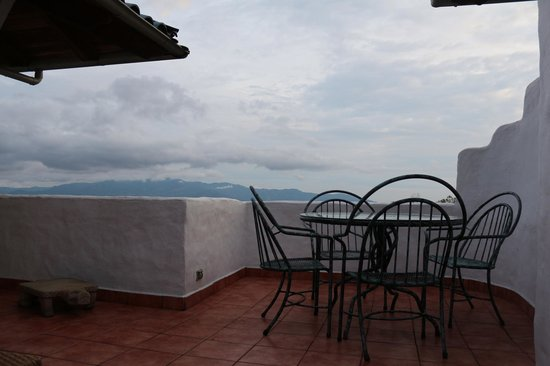 Finca Rosa Blanca Coffee Plantation Resort : terrace