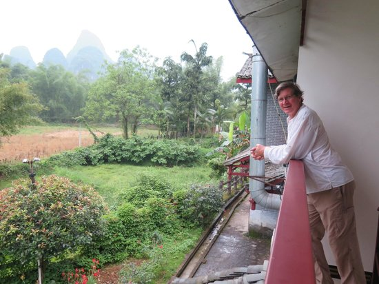 Dragon River Retreat : This is the view just below your balcony