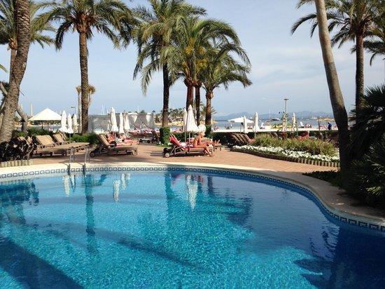 Vanity Hotel Golf: Poolarea