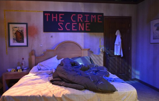 "National Museum of Crime & Punishment : A ""crime scene"""
