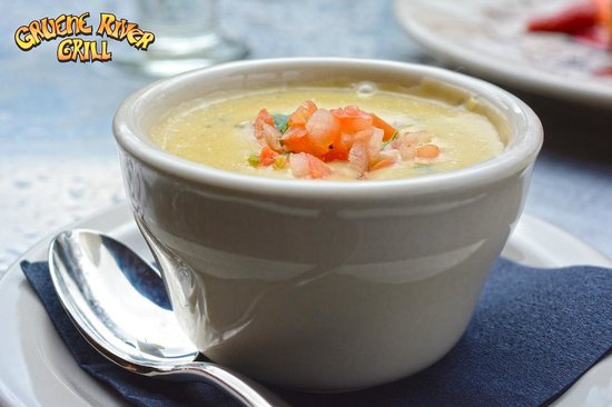 Gruene River Grill: Jalapeno Crawfish Chowder