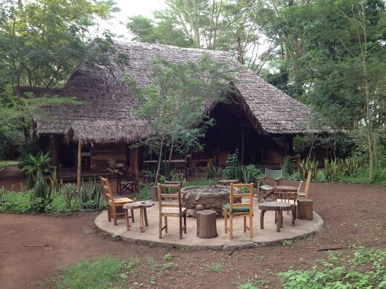 Migunga Tented Camp: Zona de restaurante