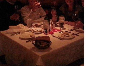 Dahl & Di Luca Ristorante Italiano : A very romantic table & atmosphere.
