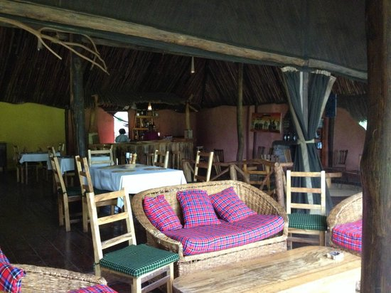 Migunga Tented Camp: Restaurante