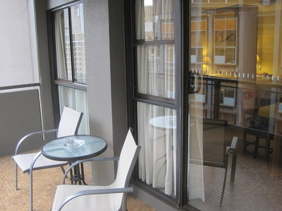 The York by Swiss-Belhotel: The Balcony