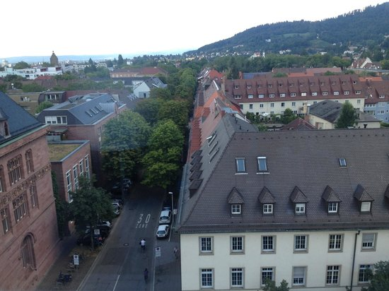 Mercure Hotel Freiburg am Münster: view from room