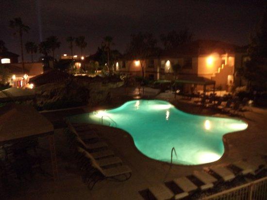 Desert Paradise Resort: Vista do quarto