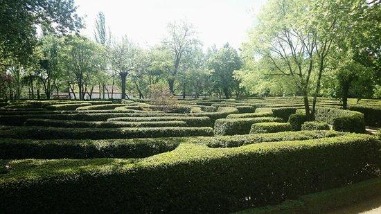 Parque de El Capricho: laberinto