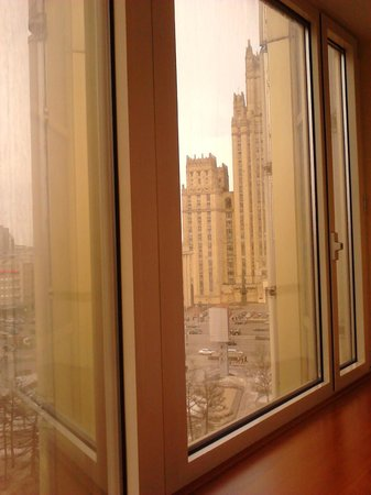 Golden Ring Hotel: Вид из окна на МИД
