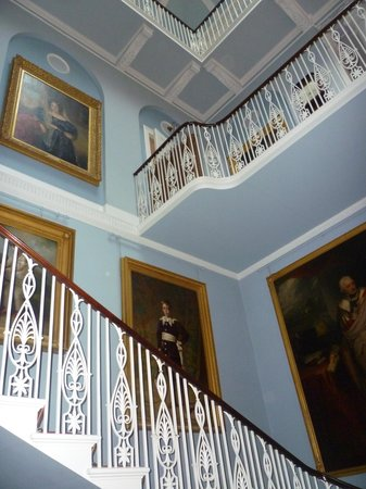 Belmont House and Gardens: The wonderful hall and staircase