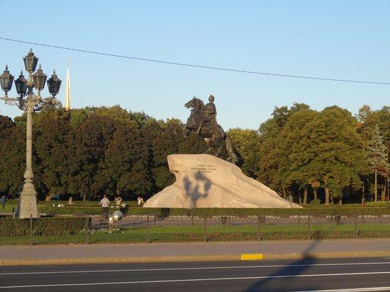 Bronze Horseman, Monument To Peter I: Медный всадник