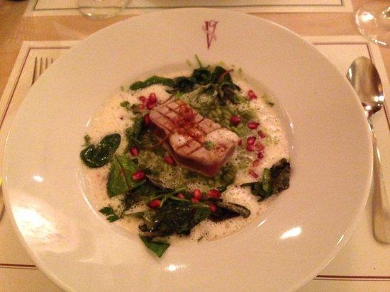 Geisel's Vinothek: Risoto verde com atum