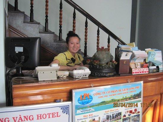 Golden Dragon Hotel: РЕЦЕПШЕН 2014 АПРЕЛЬ