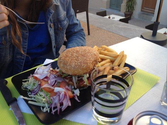 La Bamba : Copieux hamburger !!