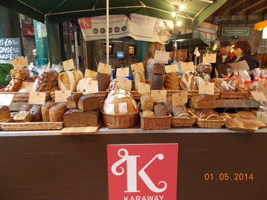 Borough Market: A very good choice of breads