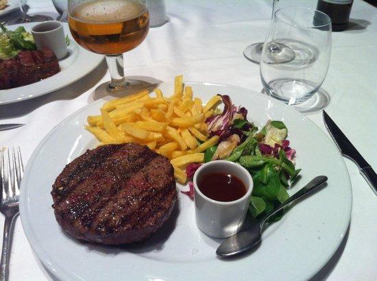 La Vaca Argentina - Valencia: Hamburguesa