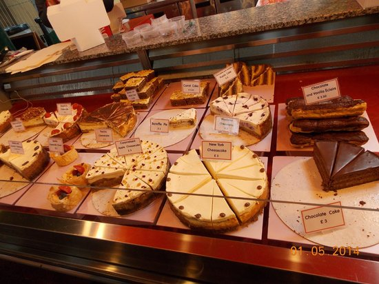 Borough Market: Delicious desserts