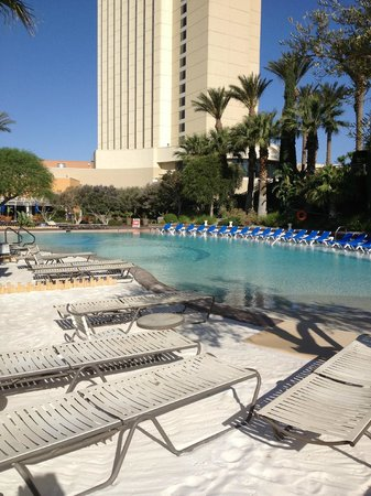 Morongo Casino, Resort & Spa: View from cabana