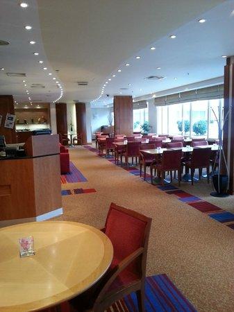 Hilton Prague : exec lounge lobby