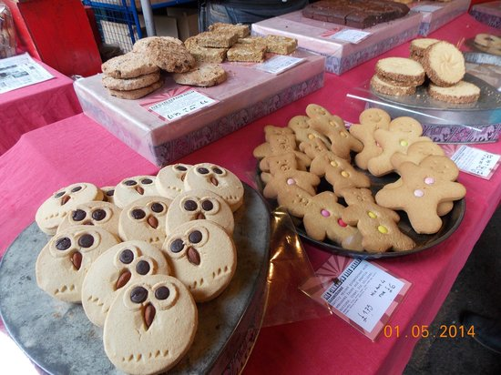 Borough Market: Biscuits