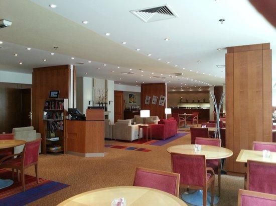Hilton Prague : exec lounge