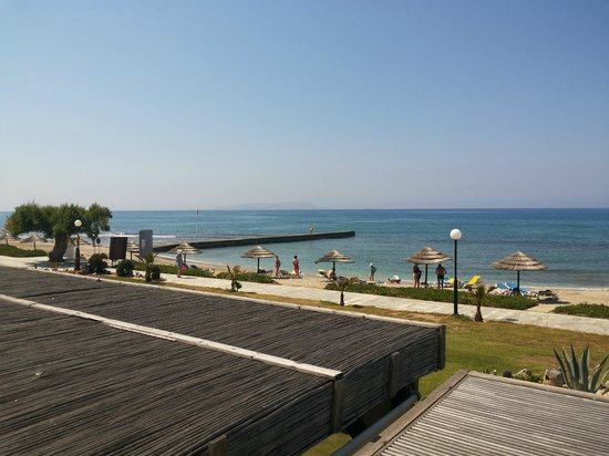 Lyttos Beach Hotel : View from main pool