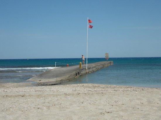 Lyttos Beach Hotel : Pier