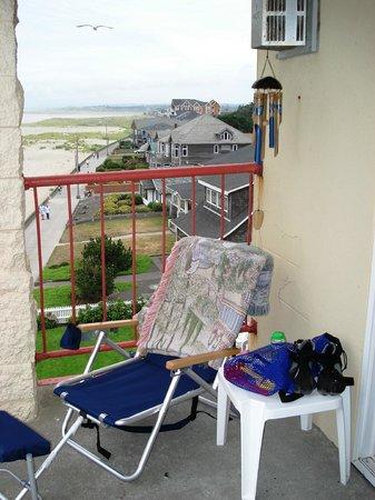 Best Western Ocean View Resort: My Deck Customized By Me - Earlier Stay