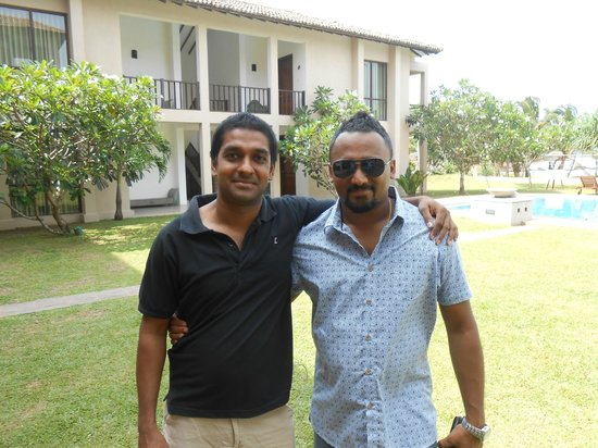 Mandara Resort: Me and Manoj