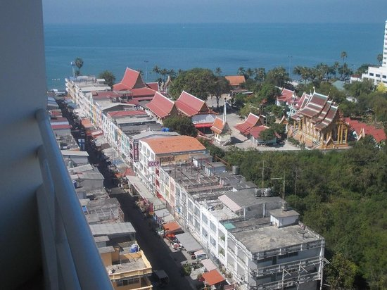Welcome Jomtien Beach Hotel: Улица Велком Джомтьен