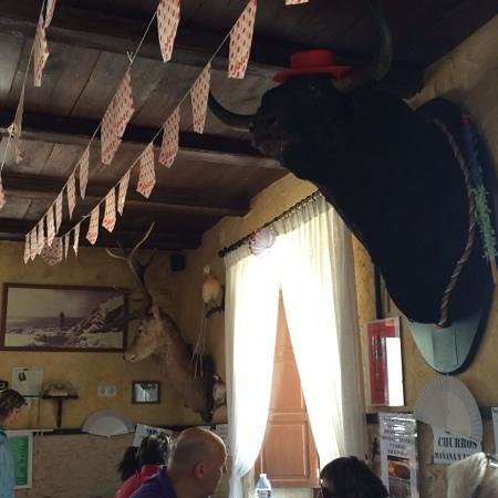 Restaurante Bar Paco Ortega: love the wild life!