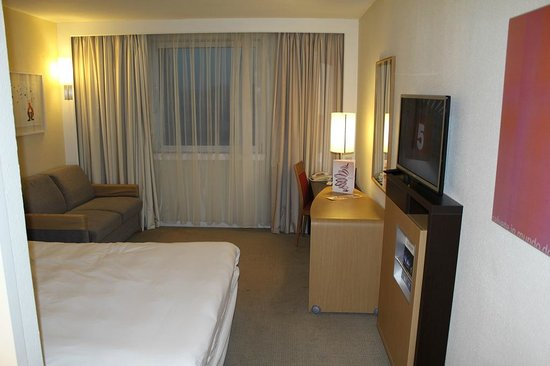 Novotel Glasgow Centre: Room 621