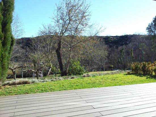Hotel El Moli : Vistas desde la terraza de la habitación