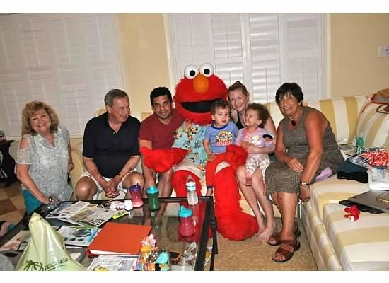 Beaches Turks and Caicos Resort Villages and Spa: Last night surprise visit from Elmo!
