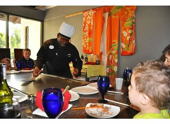 Beaches Turks and Caicos Resort Villages and Spa: Enthralled by Cookie at Kimonos!
