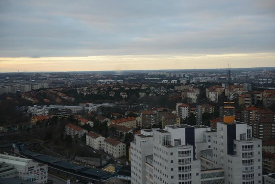 Stockholm Globe Arena: View from the top
