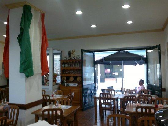 Restaurante O siciliano em Tomar - Sala Jantar