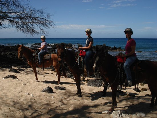 Makena Stables: By the water