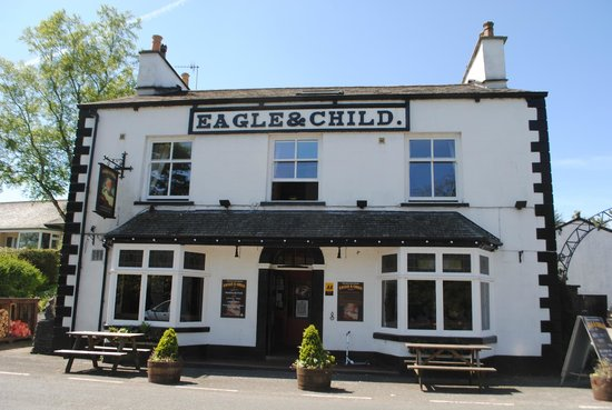 The Eagle and Child Inn: The Eagle & Child front view