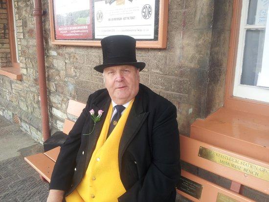 South Devon Railway: wot a nice man